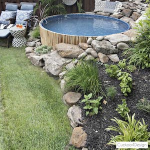 Swimming Pool for Sloped Yard