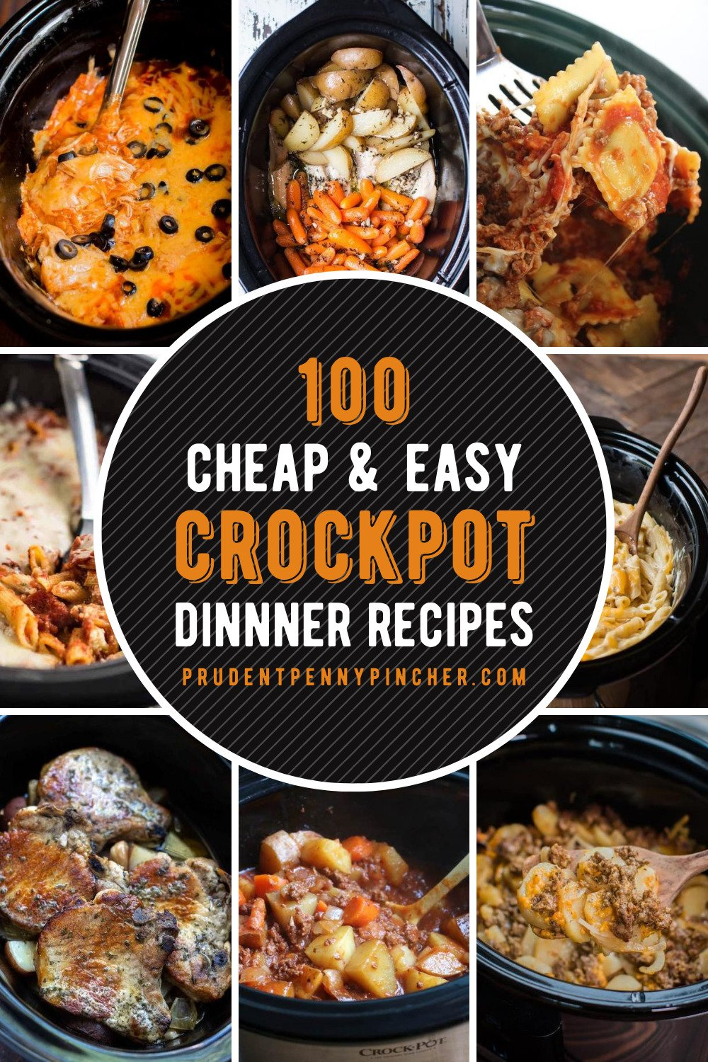 100 Cheap And Easy Crockpot Recipes Prudent Penny Pincher