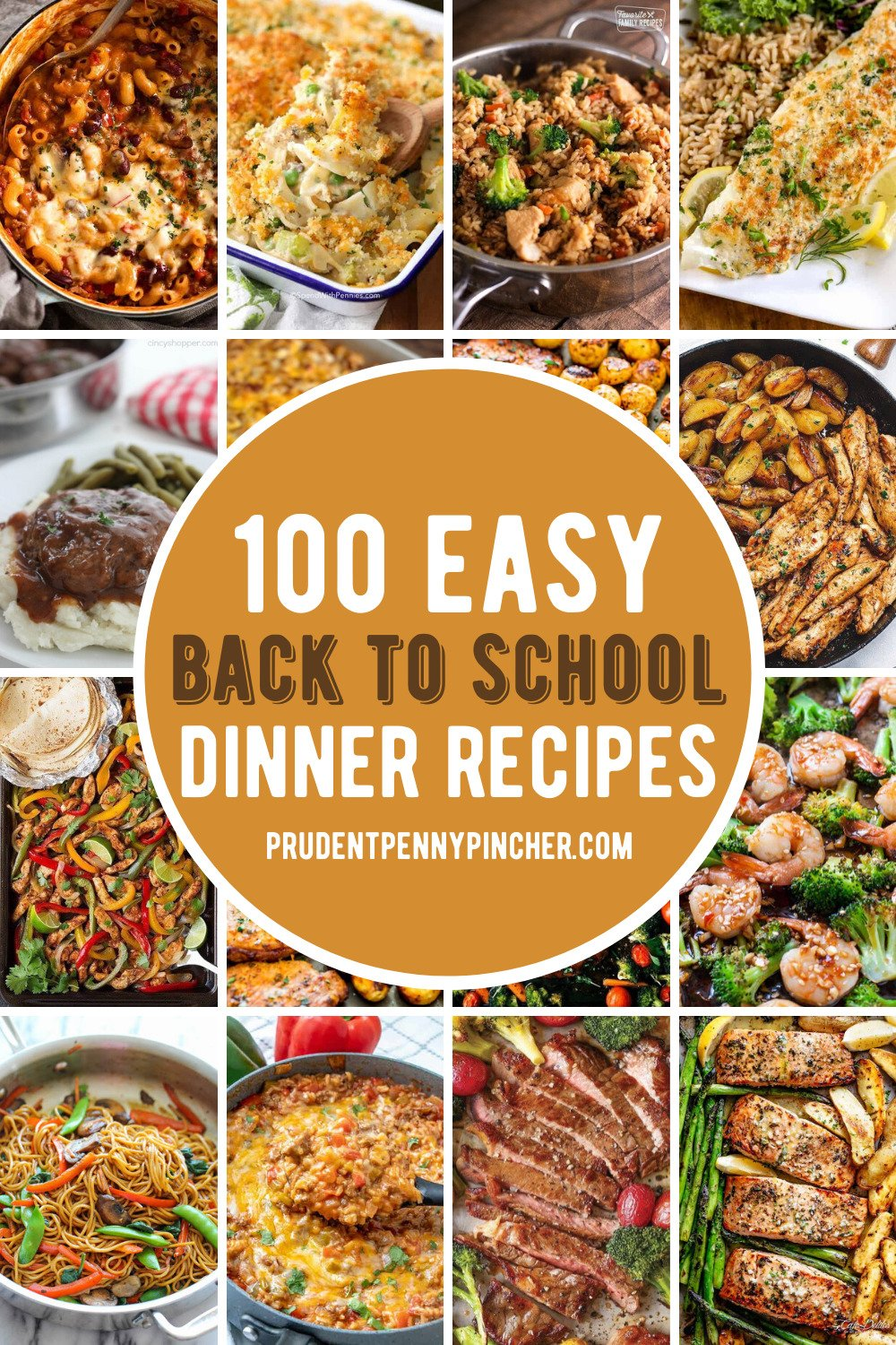 back to school easy dinner recipes