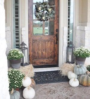 neutral fall front door