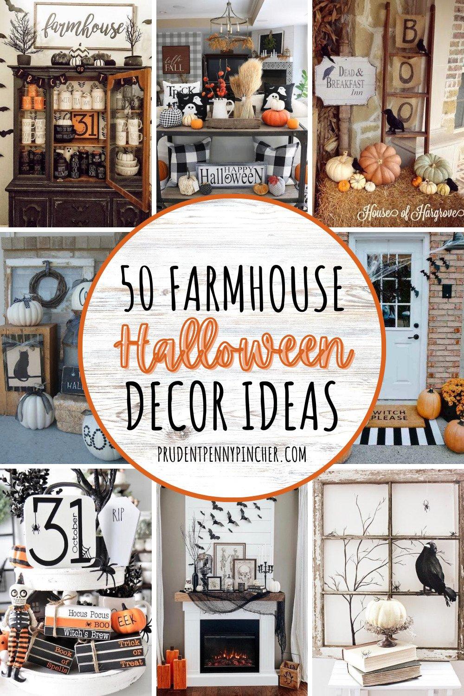 50 farmhouse halloween decorations