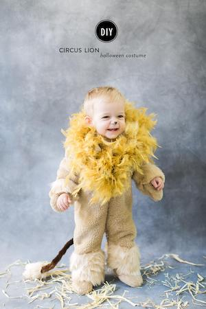 DIY Circus Lion Costume