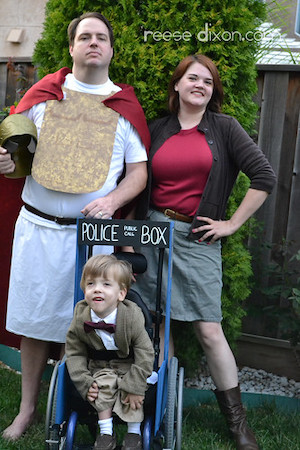Doctor Who Family Costumes