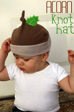 Acorn Knot Hat