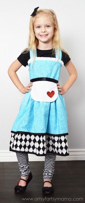 Alice in Wonderland girls halloween Costume