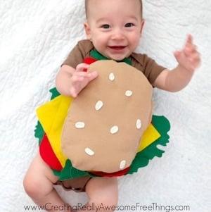 DIY Baby Hamburger