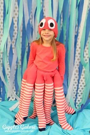 DIY Octopus Halloween Costume for Kids