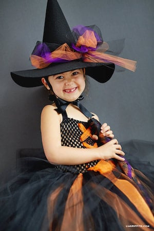DIY Witch Halloween Costume for Kids