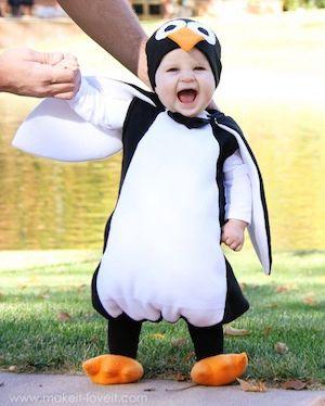 DIY Penguin halloween Costume