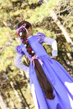 Rapunzel from Tangled Halloween Costume