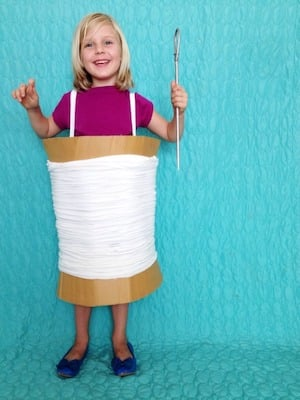 Needle and Thread halloween Costume for kids