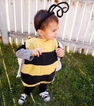 DIY Bee Halloween Costume