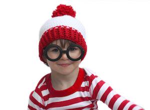 rochet Hat Pattern and Waldo Costume
