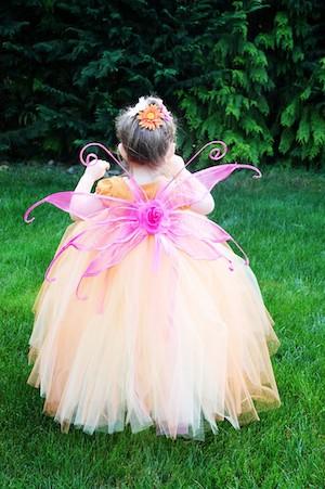 Easy Fairy girls Halloween Costume