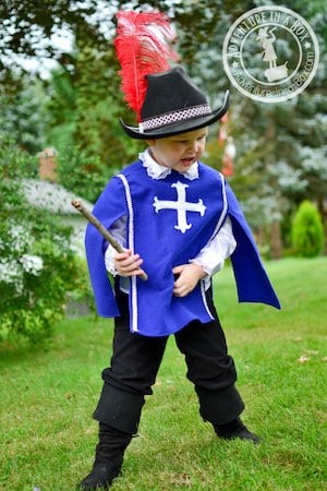 Musketeer halloween Costume for kids