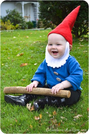 Easy Garden Gnome Costume