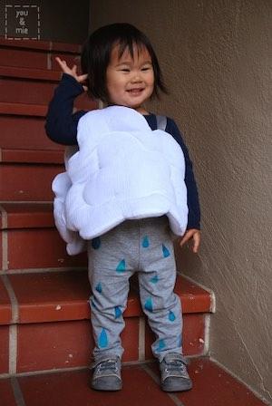 DIY Rain Cloud Costume