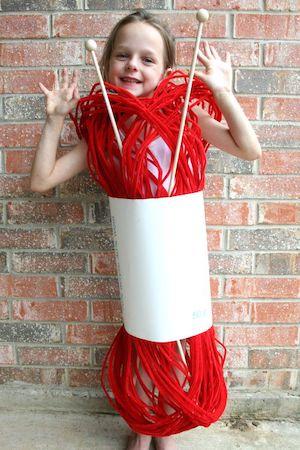 Skein of Yarn Costume for kids