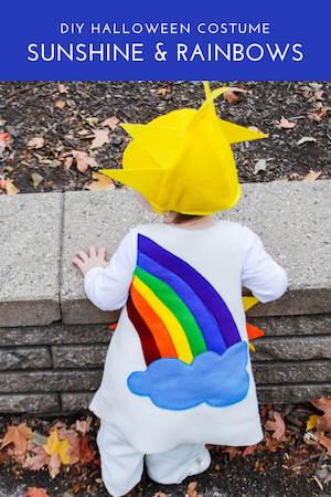 DIY Sunshine and Rainbow Costume