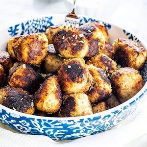 Sweet Potato Turkey Meatballs