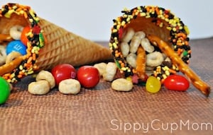 Cornucopia Snack Craft