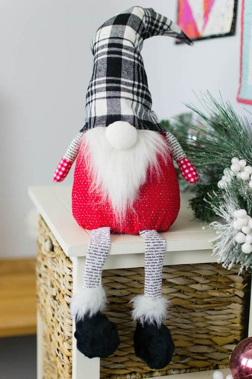 Free Sewing Pattern for Gnome