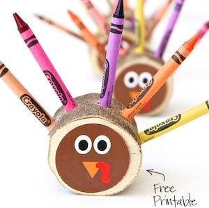 Crayon Turkeys