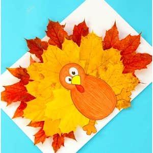 Turkey Leaf Craft