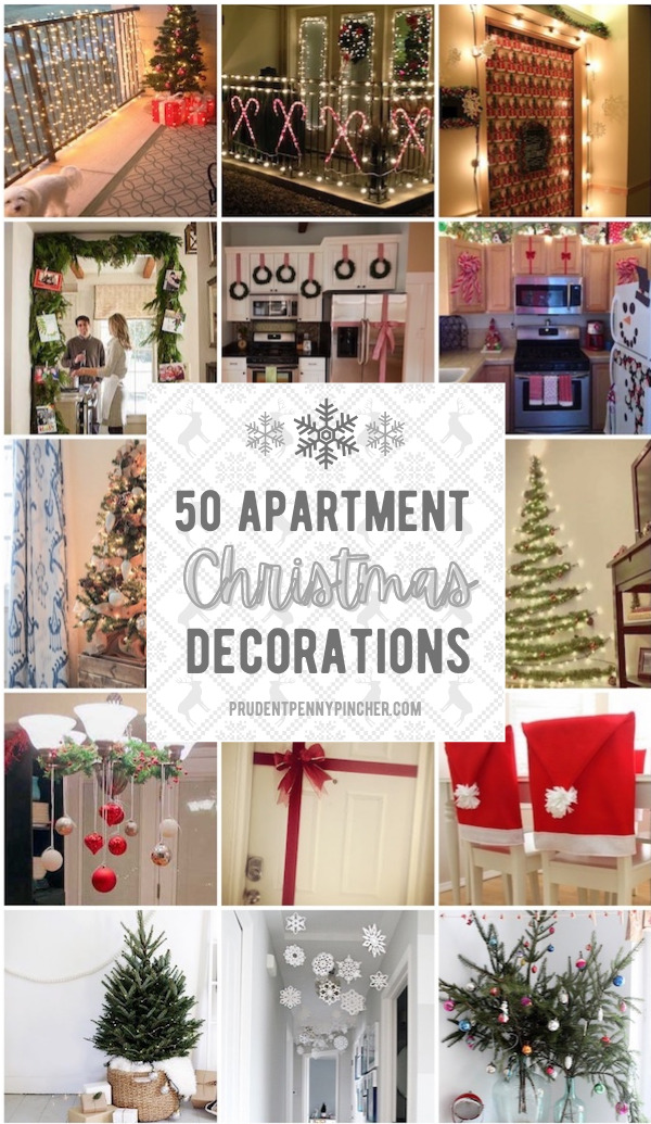 50 Apartment Christmas Decorations Prudent Penny Pincher