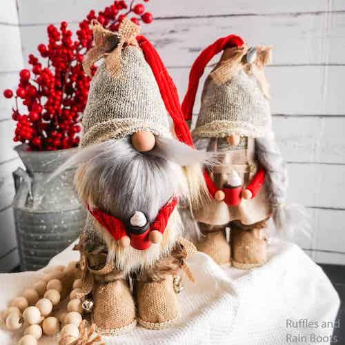 DIY Farmhouse Gnomes