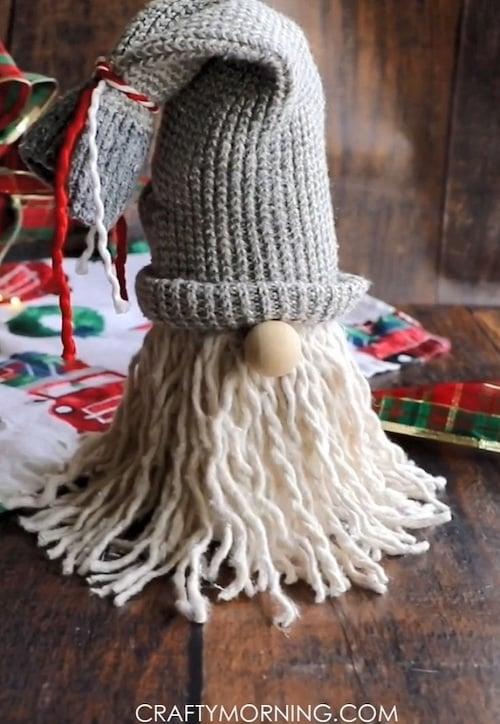 Mop DIY Christmas Gnomes