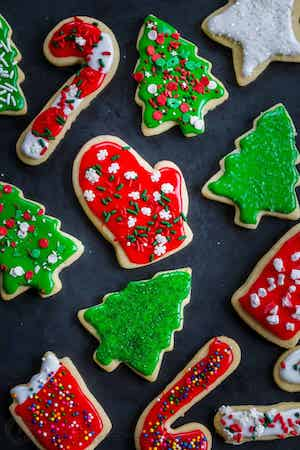 Easy Sugar Cookies for Christmas
