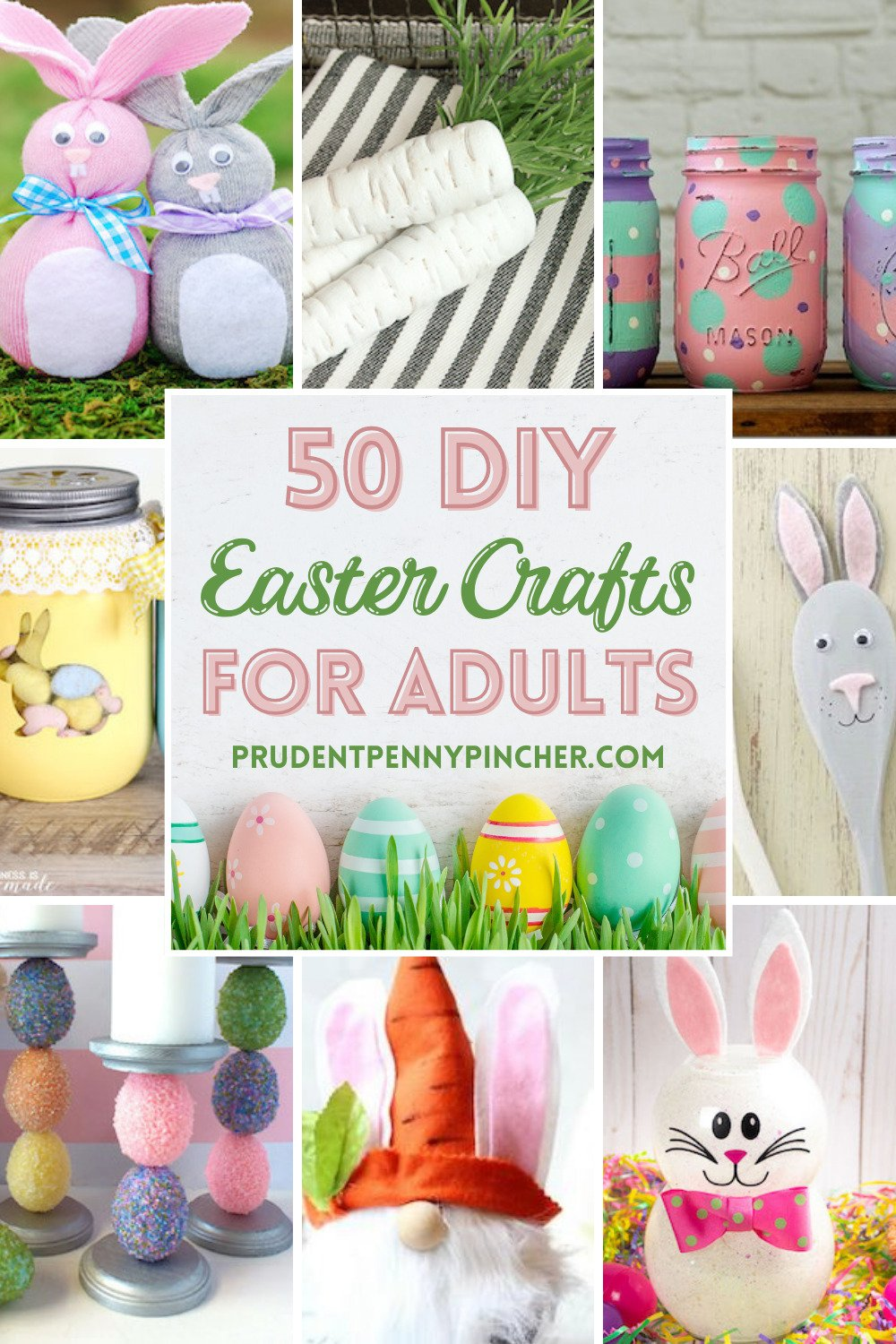 20 DIY Easter Crafts for Adults   Prudent Penny Pincher