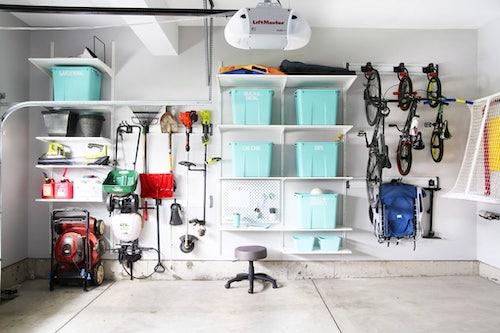 Organized Garage Tour