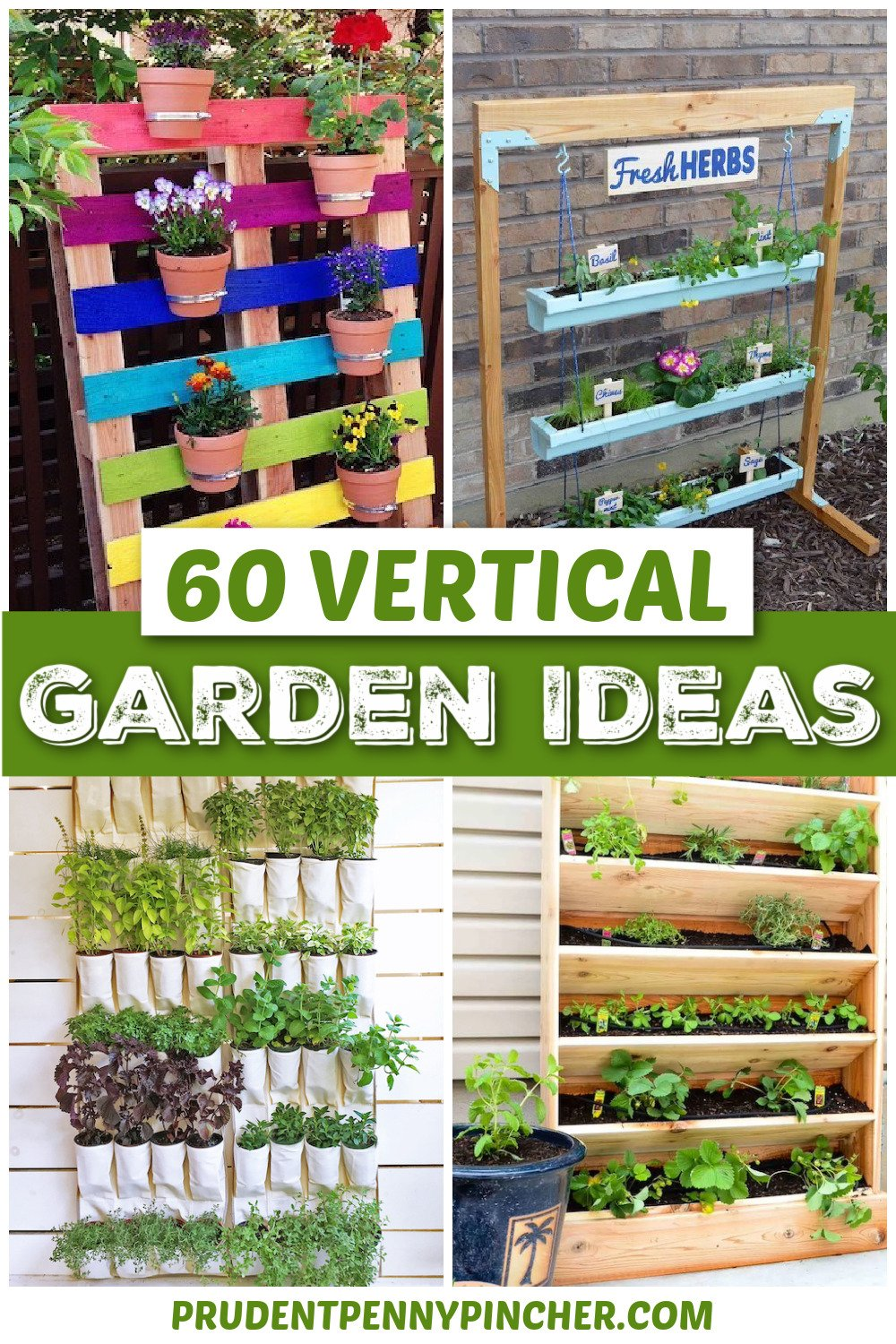 20 DIY Vertical Garden Ideas for Small Spaces   Prudent Penny Pincher
