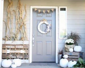 Neutral Fall Front Porch