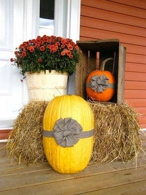 front door fall decor ideas