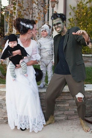 cute Monster Family halloween Costumes