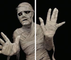 mummy window poster
