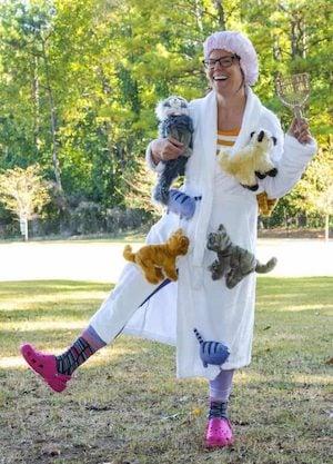 easy Crazy Cat Lady costume