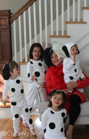 101 Dalmatians family halloween Costumes