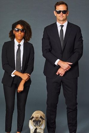 Men in Black Costume