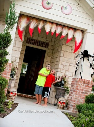 monster front porch