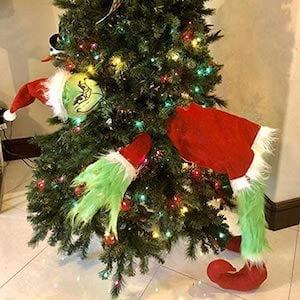 grinch christmas tree decoration