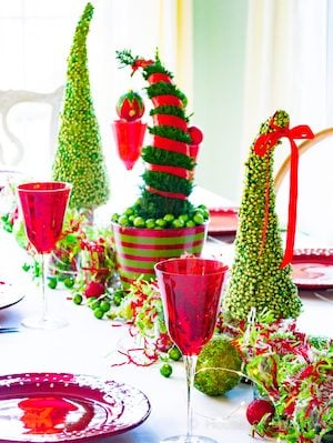 grinch christmas tables cape