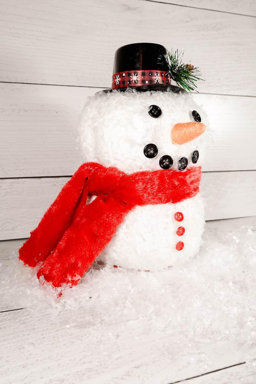 dollar tree snowman