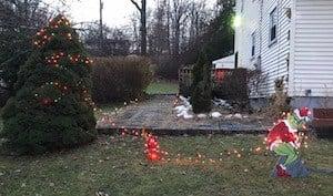 grinch yard christmas decoration