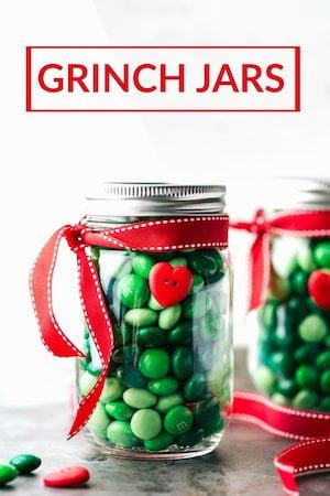 grinch candy jar Christmas Decoration