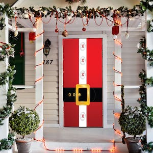 Santa's Belt Door Decor