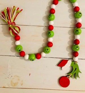 grinch Christmas Garland decoration
